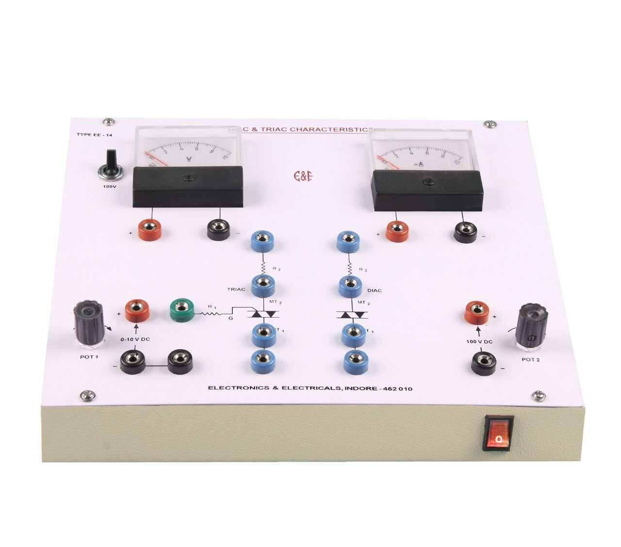 Diac And Triac Characteristic Trainer Industrial Dc Control For Triacs Scientific
