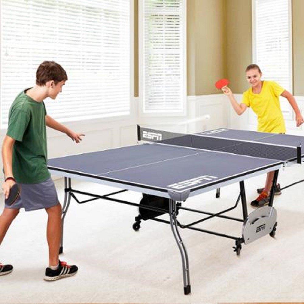 Espn tennis table ping pong professional official size - What is the size of a ping pong table ...