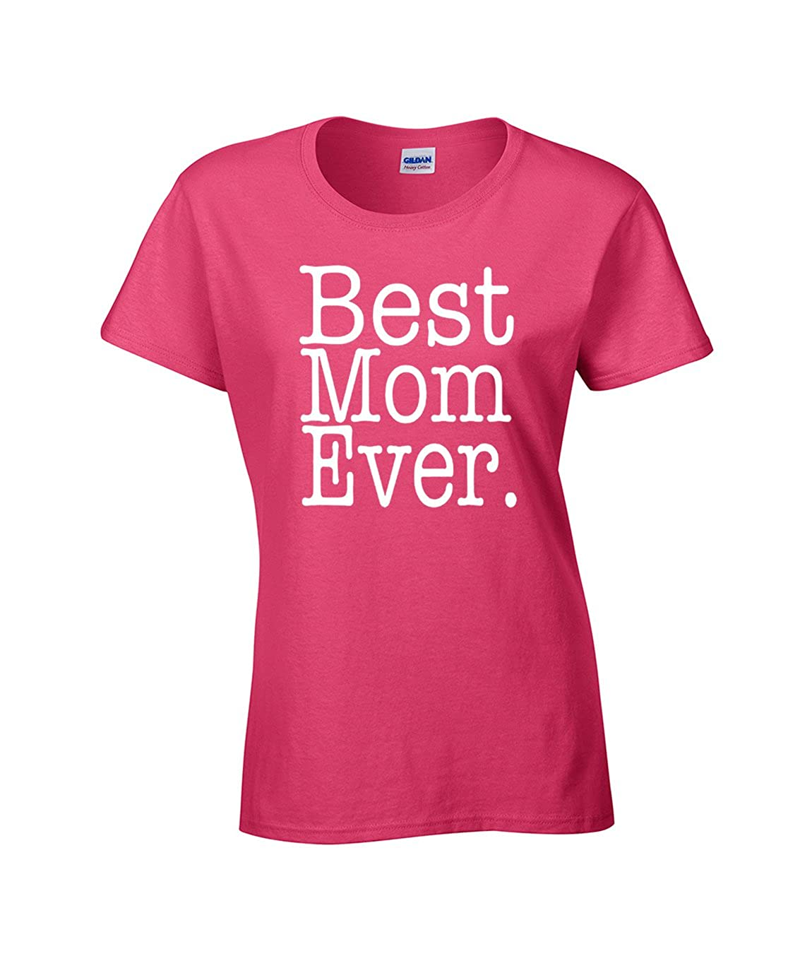 Amazon.com: AW Fashions Best Mom Ever - Funny Mothers Day Present for Mommy Ladies T-Shirt: Clothing