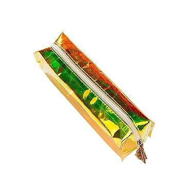 Tukistore fresco bolso del lápiz transparente caso de lápiz ...
