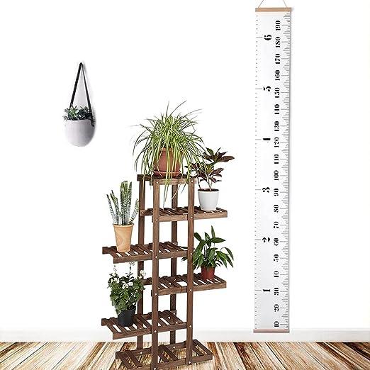 Amazon.com: aomingge Hanging Gráfico de crecimiento, altura ...