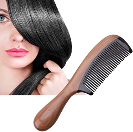 Professional Hair Comb Natural Wooden Handle Sandalwood Fragrant Hair Style Brush Anti Static Suitable For Women Man By Koksi Amazon Co Uk Beauty