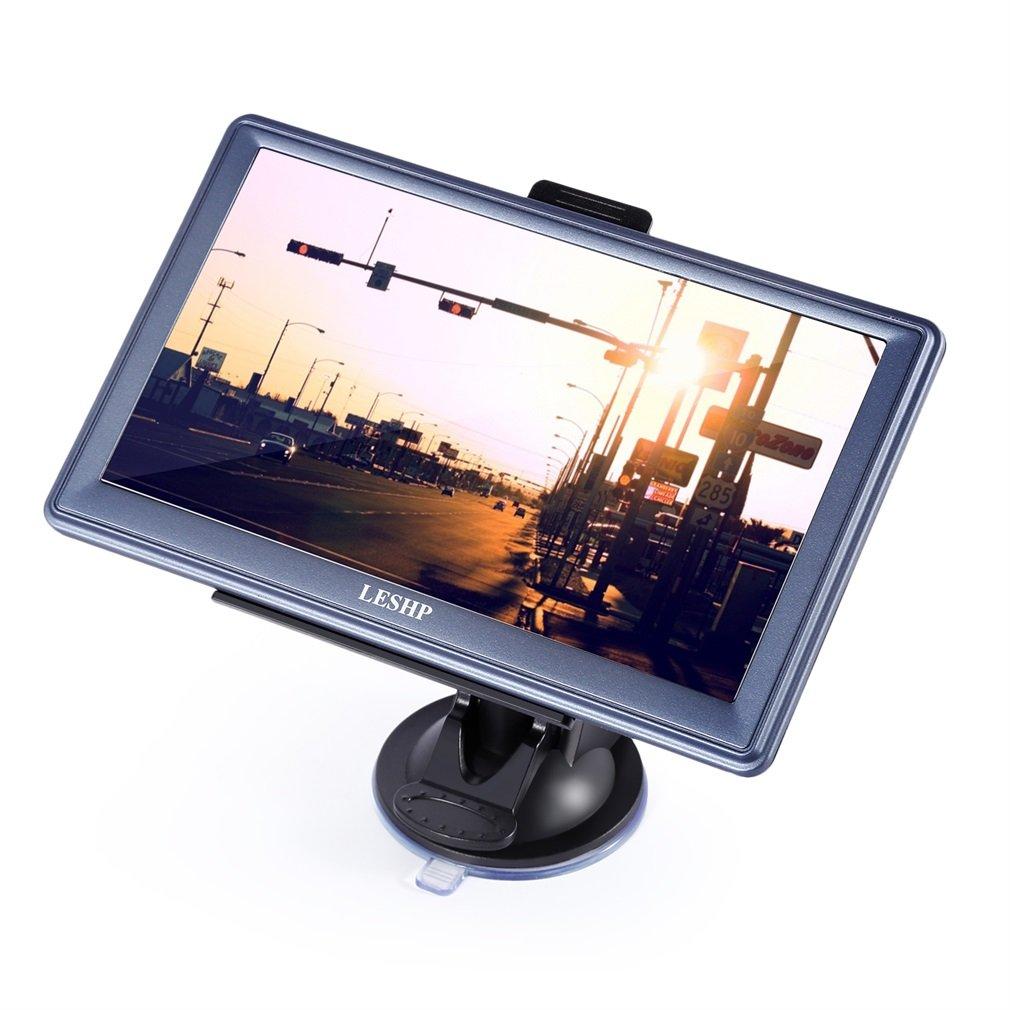 Poncherish 7 pollici 8 GB Touch Screen Auto Navi GPS Navigazione per auto auto contiene le mappe europee e aggiornamento Poncherish3DE