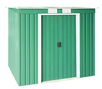 Duramax - Caseta metálica color verde PentRoof