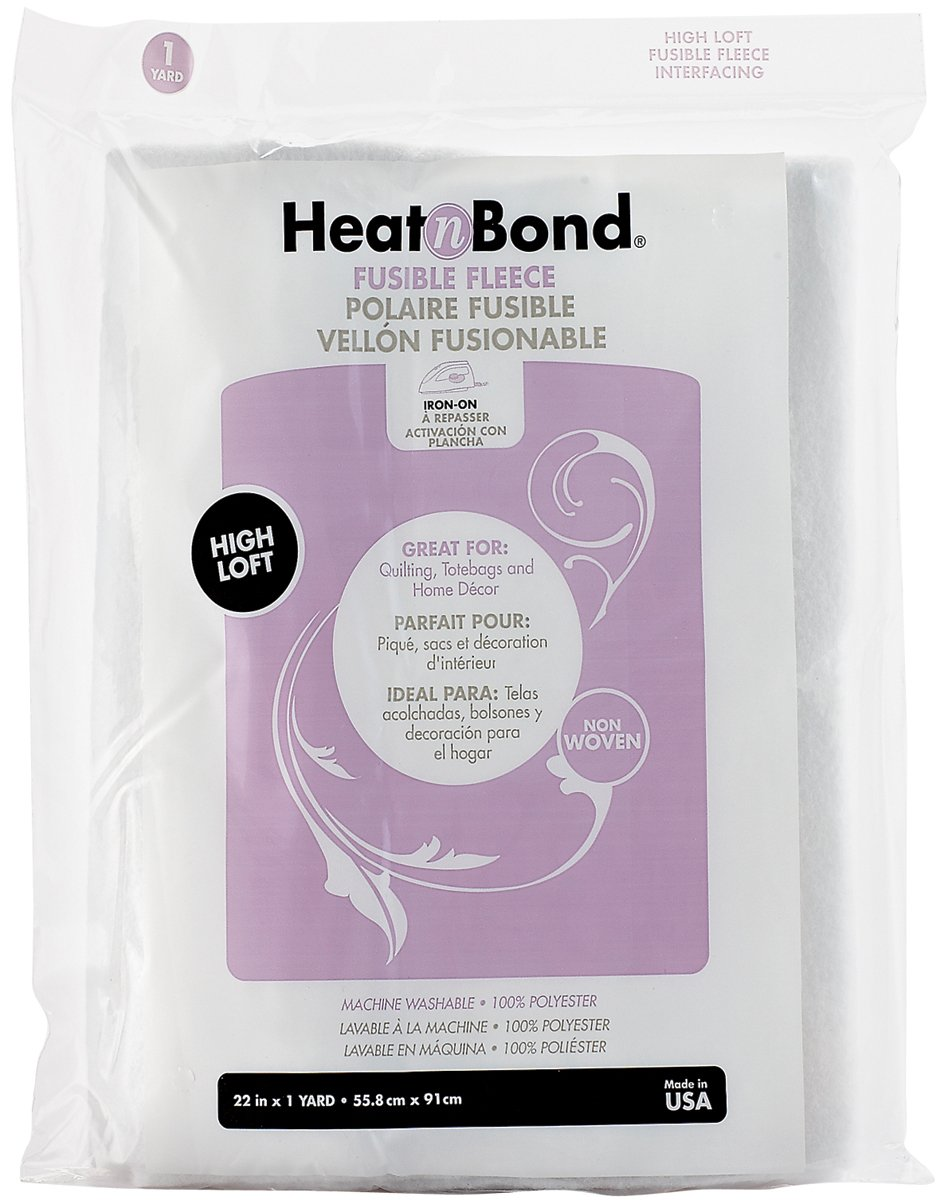 Heat'N Bond Iron-On Fusible Fleece High Loft-22x36 THERMOWEB FBA_Q2168