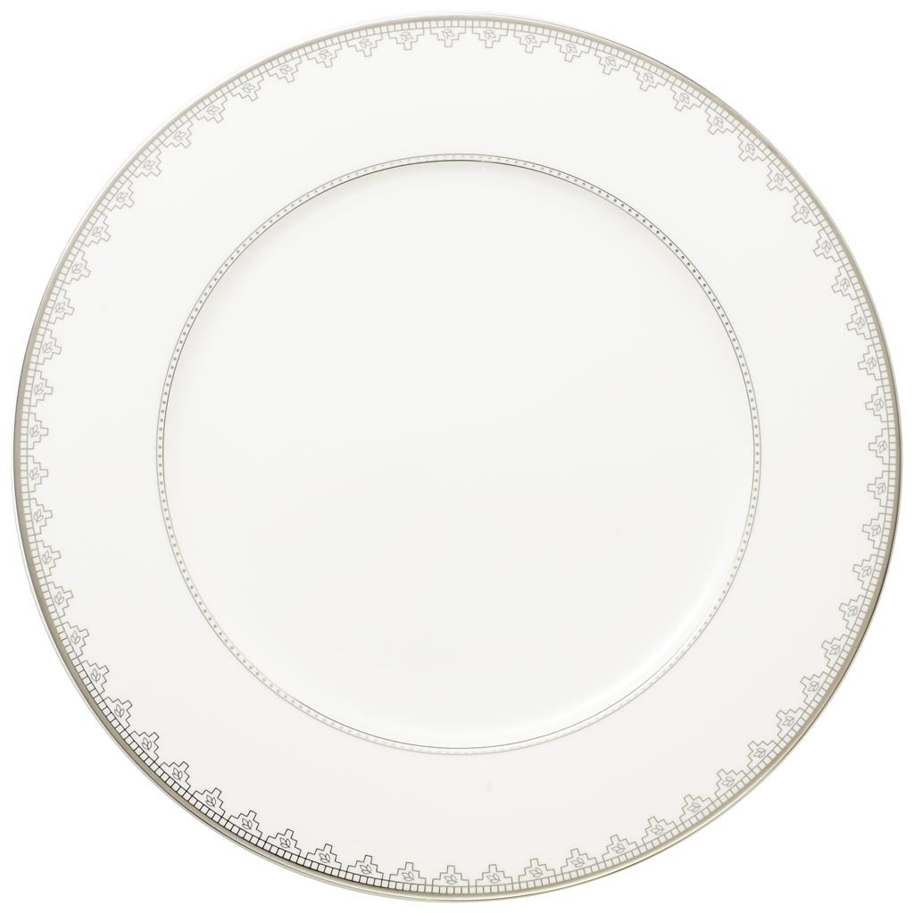 Villeroy and Boch White Lace Buffet Plate 30cm