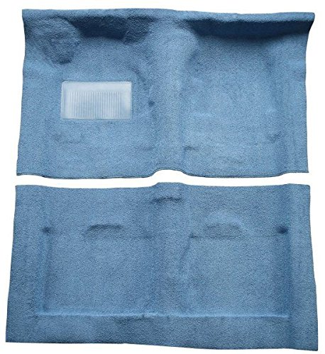 - 1986 to 1989 Acura Integra Carpet Custom Molded Replacement Kit, 4 Door (8288-Cinnabar Plush Cut Pile)