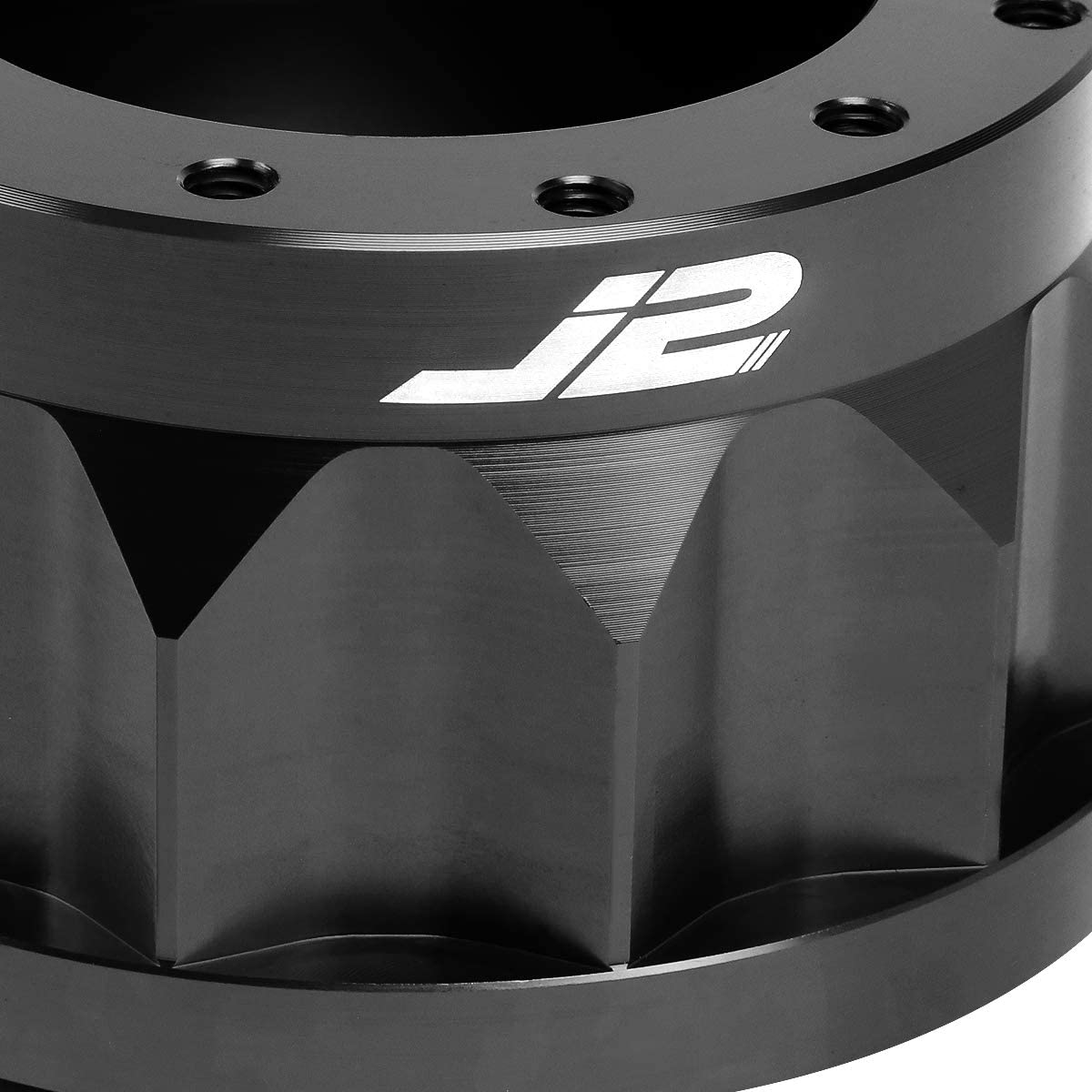 J2 Engineering Blue J2-HUB-OR18-BL 2 6-Bolt Aluminum Steering Wheel Hub Adapter 7 RX-8 Genesis Rio Optima
