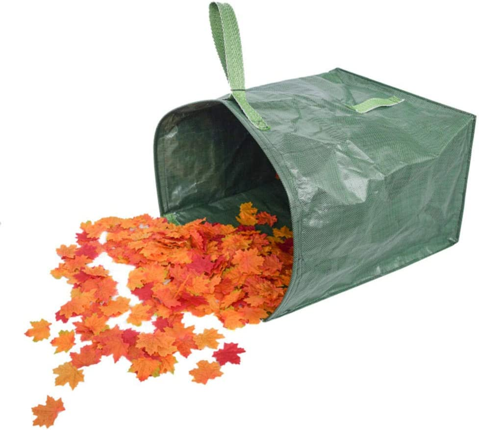 Bolsa De Almacenamiento De Basura Portátil Plegable Pop-Up Garden Leaf Basurero Flores Y para Jardín Camping Cesto De Recolección