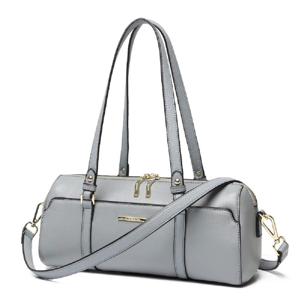 婦人用バッグ本物 レディース牛革レザーハンドバッグクロスボディボストンバッグとバッグファッション ファッション B07MQGFNHG