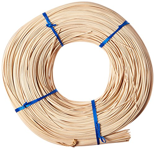 Commonwealth Basket Round Reed #2 1-3/4mm 1-Pound Coil, Approximately 1100-Feet (Reed Basket)
