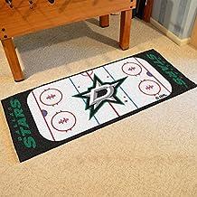 Fanmats Home Indoor sports Team Logo Dallas Stars Rink Runner Mat