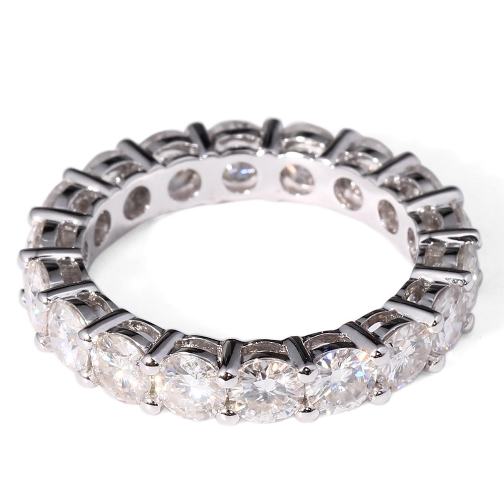 wedding channel half products eternity nodeform set contoured bands band shadow moissanite by curved