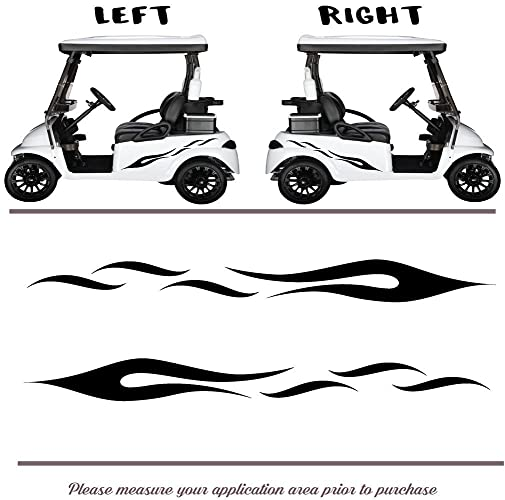 Amazon.com: Golf Cart, Go Cart Vinyl Graphic Decal Stickers, Set os on amazon garden carts, amazon scooters, amazon beach carts,