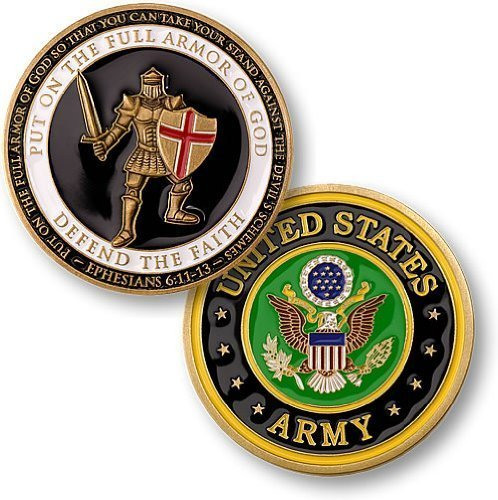 Armor of God - Army Challenge Coin by Northwest Territorial Mint
