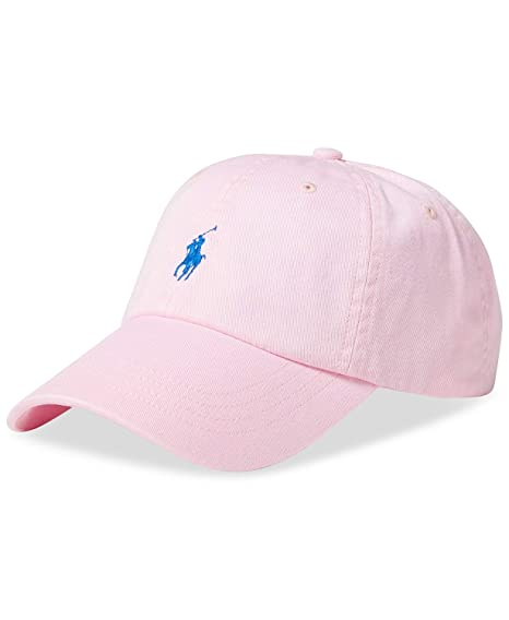 b6aa47f2 Ralph Lauren Men's Baseball Cap One size - Carmel Pink: Amazon.co.uk:  Clothing