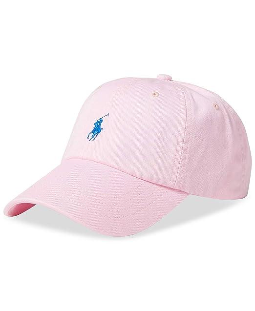 Ralph Lauren - Gorra de béisbol - para hombre Carmel Rosa Talla única: Amazon.es: Ropa y accesorios