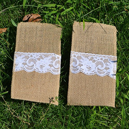 Runner Bag - 1 Roll Table Runners Sack Bags Jute Lace Wedding Christmas Decoration Luxury Burlap Linen Runner 295 - Belt Men Phone Ina For Pack by Unknown (Image #1)