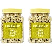 FreshoGen Cashew Nut Kerala Origin Premium Whole Kaju Plain & Raw Cashew Nut (1 Kg)