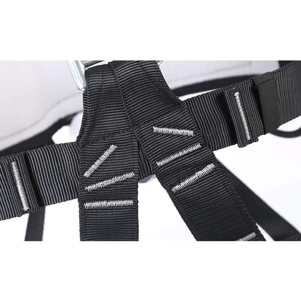Climbing Safety Belt, Outdoor Climbing Rescue Belt Downhill Safety Half Body Harness high Altitude Belt Belt by HENRYY (Image #4)