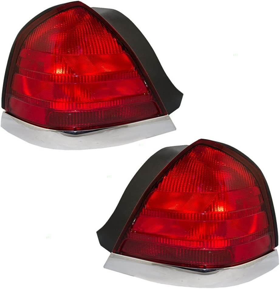 Drivers Taillight Tail Lamp Lens /& Housing Unit Replacement for 07-17 Ford Expedition 7L1Z13405AA