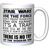 """What I Learned From Star Wars"" Coffee Mug (Newest Version)"