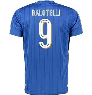 2016-2017 Italy Puma Home Football Soccer T-Shirt Jersey (Mario Balotelli 9 afb372e0b