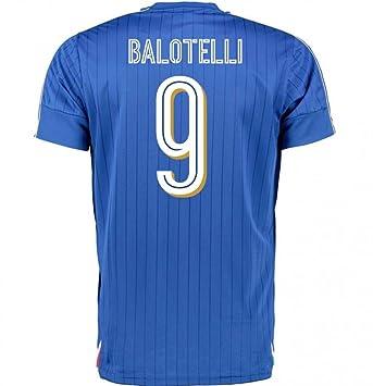 2016-2017 Italy Puma Home Shirt (Balotelli 9) - Kids