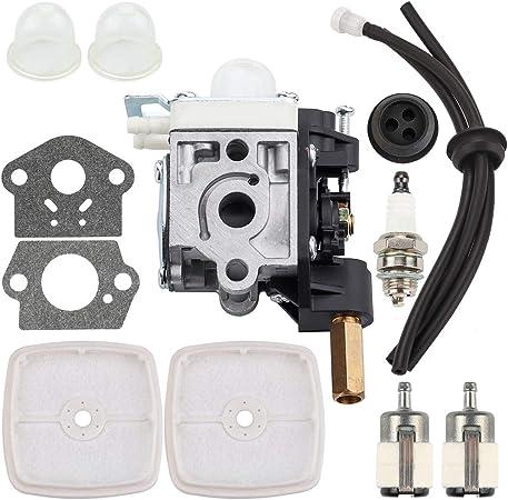 Carburetor For ECHO SRM-210 SRM-211 GT-200R Zama RB-K75 RBK75 Carb Air Filter