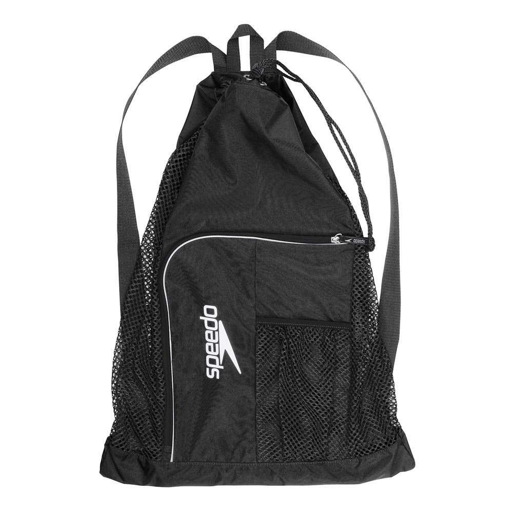Speedo Deluxe Ventilator Mesh Bag Mochila, Unisex Adulto