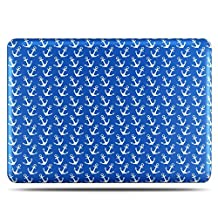 TNP MacBook Pro 13 Retina Case [Anchor Pattern] - Soft-Touch Plastic Matte Hard Shell Protective Case Cover Skin for Apple MacBook Pro 13 Inch A1425 A1502 with Retina Display
