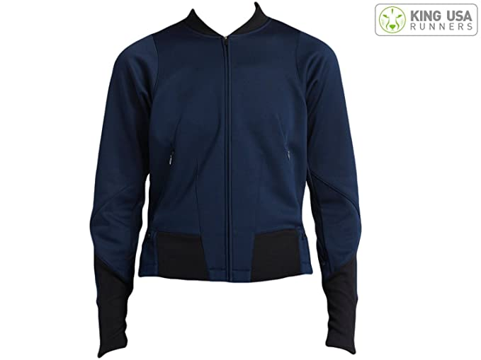 Womens Nikelab Knit Obsidian/Black Training Jacket