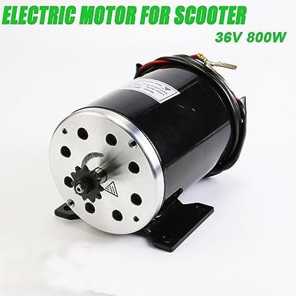 800 W 36 V DC motor eléctrico para Scooter Kart Minimoto e ...