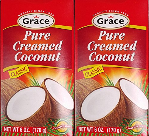 - GRACE PURE CREAMED COCONUT 6 OZ 2PK