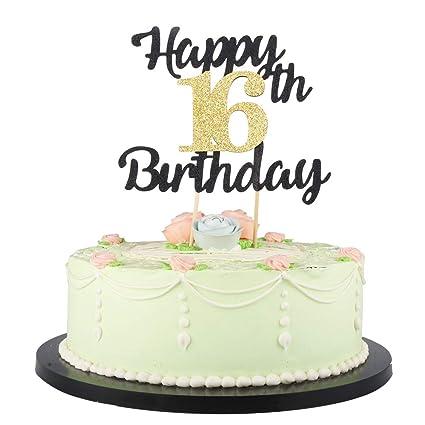 LVEUD - Decoración para tartas de cumpleaños, diseño con ...