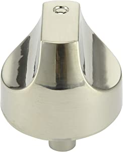 WB03T10329 / WB03X25889 Range Burner Control Knob for GE Cafe Series. Range/Stove/Cooktop Knob Upgraded with Metal Guard Ring.