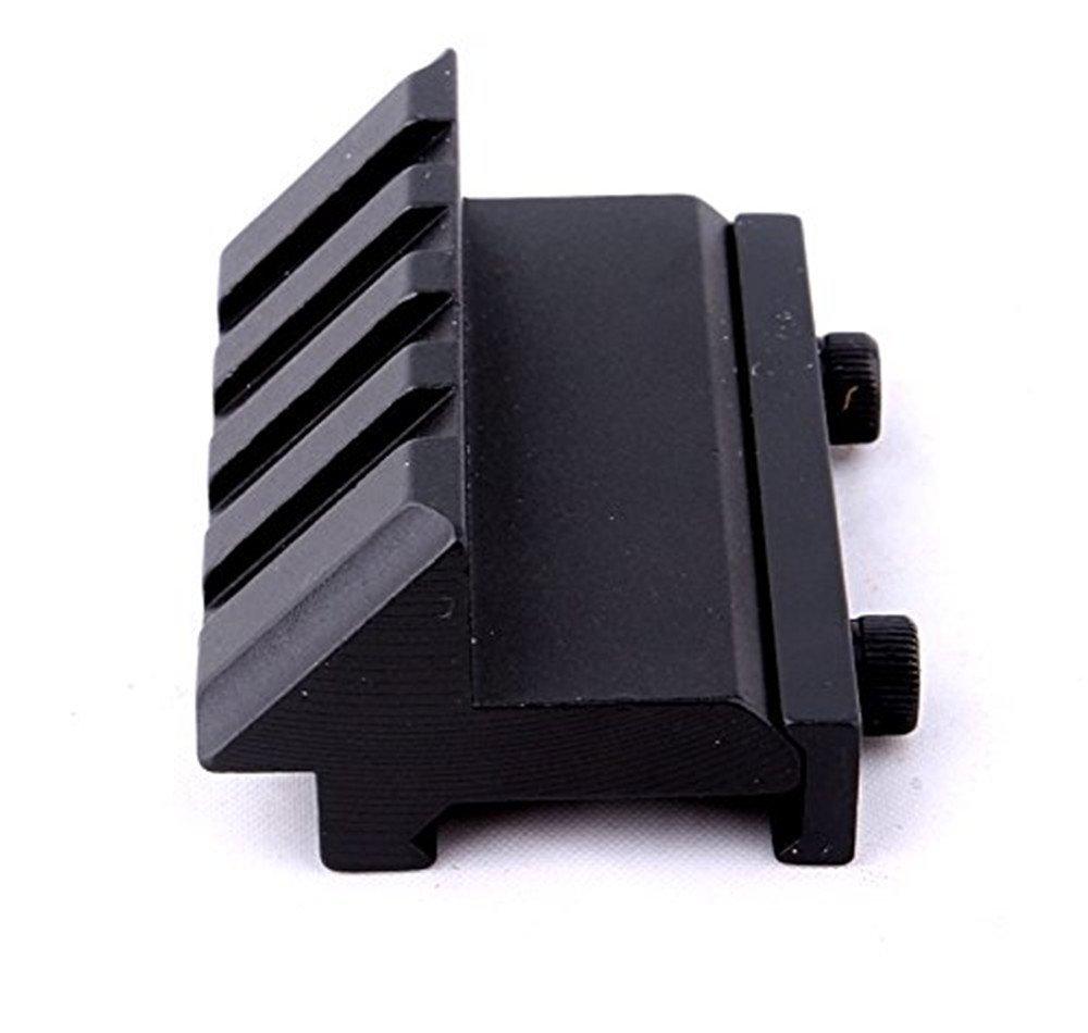 Ranura para tarjeta de 11/mm//20/mm cilindro de metal Plein montura de alcance de nivel de Esprit con la llave para el tubo de escopeta de Rail Picatinny Weaver 20mm
