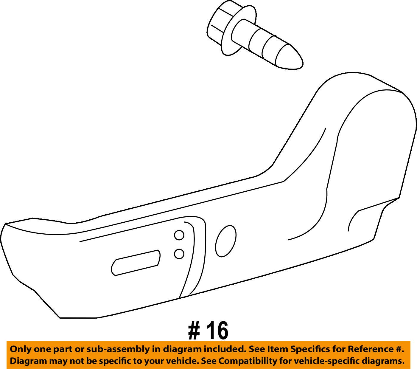 TOYOTA Genuine 71812-07060-C0 Seat Cushion Shield