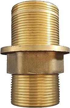 Amazon Com Monkeyjack Faucet Fittings Nipple Locknut Kit Deck Mount Basin Tap Single Hole 4 Sizes 6cm Home Improvement