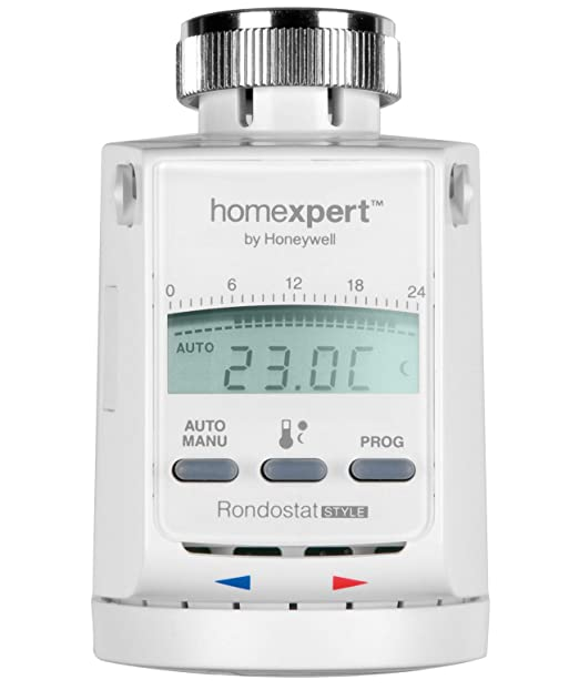 99 opinioni per Homexpert by Honeywell Rondostat HR20-Style- Termostato programmabile