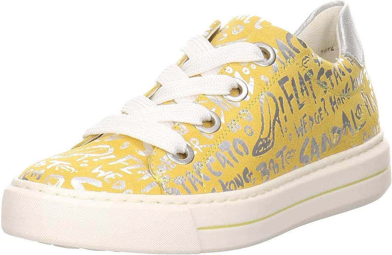 ARA Damen Courtyard Sneaker Gelb