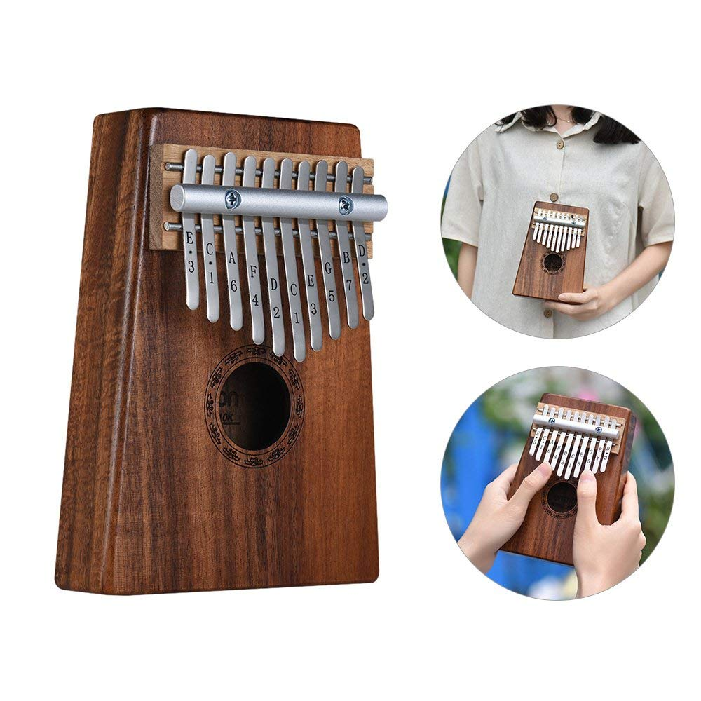 Amazon.com - Kalimba 10-Key Pulgar Piano Mbira Sanza ...