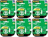 Scotch 3M 119 Magic Tape, 1/2 x 800 Inches ( Case of 144 )