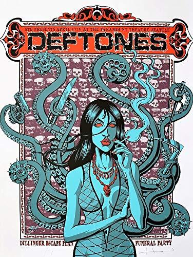 Deftones Concert Poster for sale   Only 3 left at -70%