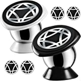 Magnetic Car Cell Phone Mount,KEKU 2Pack Smartphones Holder Dashboard for iPhone 7 6 6s plus 5 5s SE, Samsung Galaxy S8 Edge S7 S6 Note5,Nexus 6 ,GPS or Portable tablet .(Cool black,Classic White)