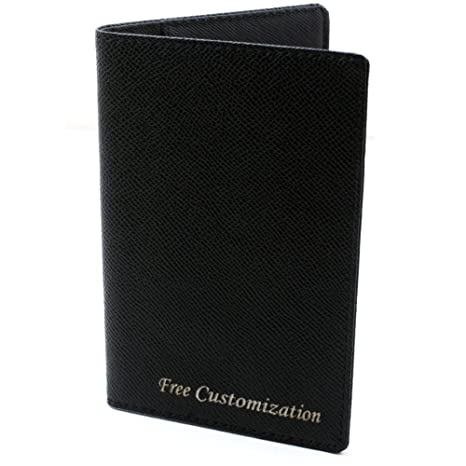 b6ceb2840a0 Amazon.com | Free Engraving - Passport Holder, Leather Passport Wallet,  Passport Cover, Free Customization | Passport Covers