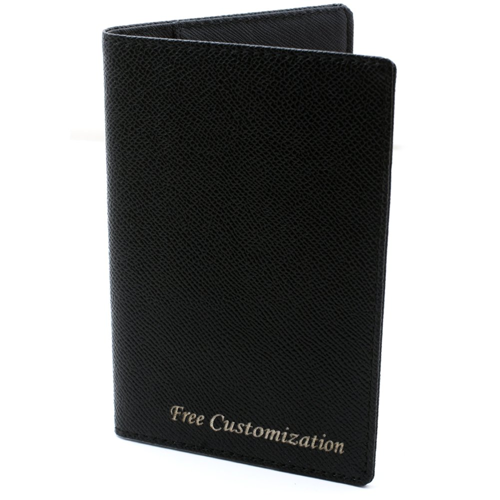 Free Engraving - Passport Holder, Leather Passport Wallet, Passport Cover, Free Customization