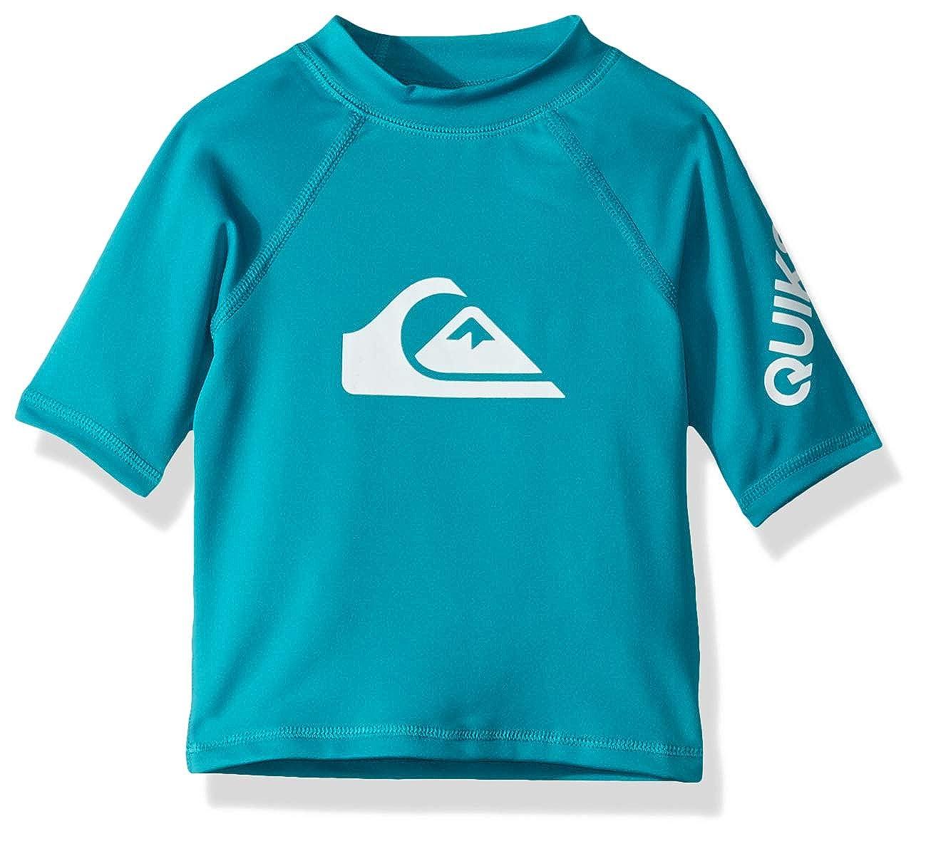 Quiksilver Little Time Short Sleeve Boy Surf Tee Rashguard