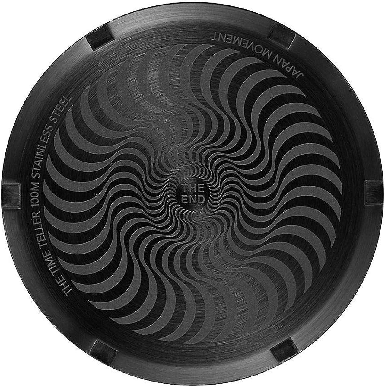 Black//Swirl Nixon x Spitfire Time Teller