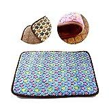 Cheap Saymequeen Puppy Summer Cool & Warm Cushion Multifunctional Pet Sleep Mat Dogs Crate Pad Cat Bed Mattress Crates Mat (S(40x30cm/16×12), blue)